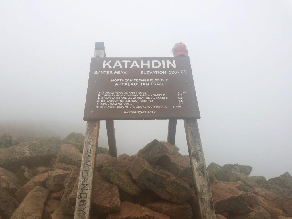 Appalachian Trail Übersicht - Maine