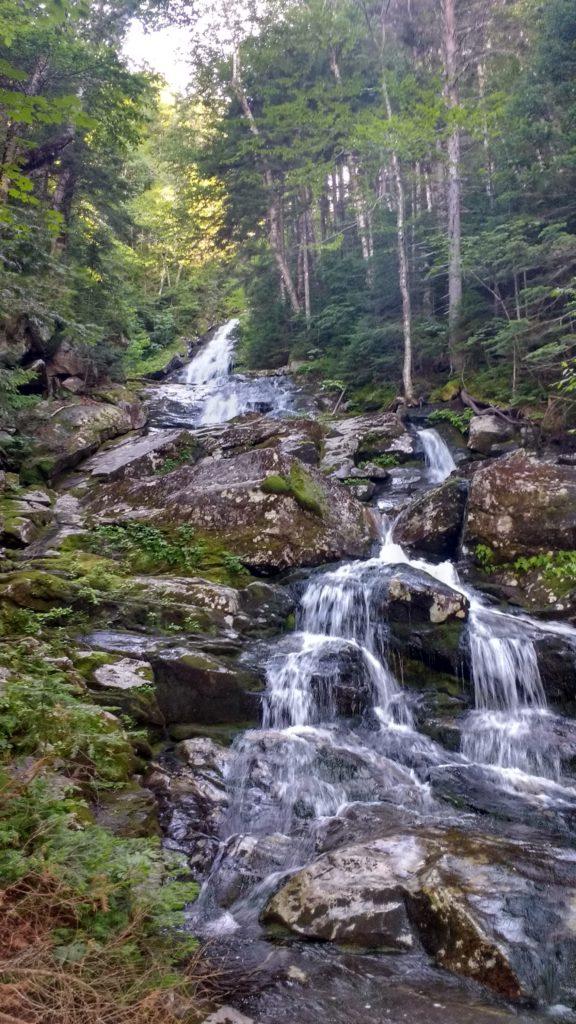 Wasserfall auf dem Appalachian Trail