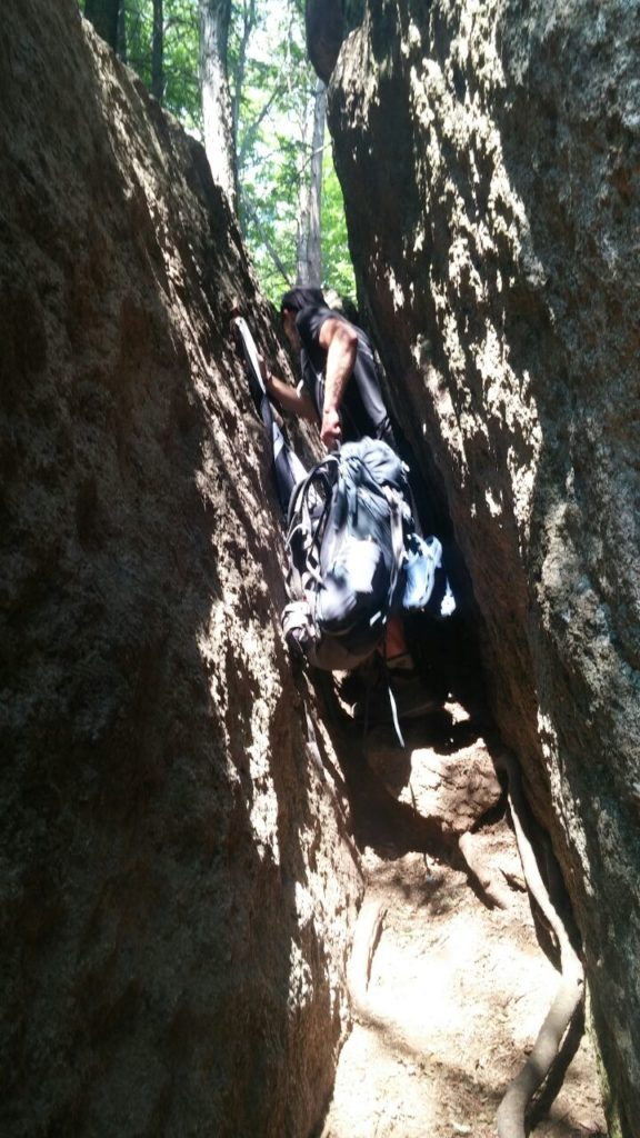 Appalachian Trail Übersicht - Conneticut