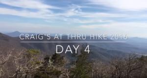 appalachian Trail Videotagebuch 4